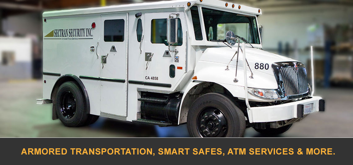 Armored Transportation, Smart Safes, ATM Services & More. Sectran Security, Inc.